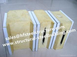 中国 鋼鉄建物の冷蔵室のパネル、冷蔵室のためのEPS/PUサンドイッチ パネルおよびプレハブの家 サプライヤー