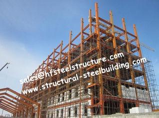 中国 鉄骨構造の建物のホテルのプロジェクトは鋼鉄建築構造を組立て式に作りました サプライヤー