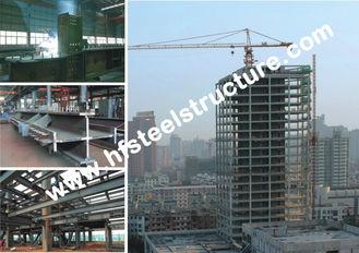 中国 アーチ様式の商業鋼鉄建物、冷間圧延された鋼鉄軽量の門脈の木造家屋 サプライヤー