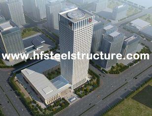 中国 、鋸で挽き、前設計されたプレハブの防水商業鋼鉄建物ひきます サプライヤー