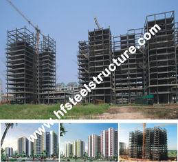 中国 、電気電流を通された電流を通される、熱いすくい塗るプレハブの商業鋼鉄建物 サプライヤー