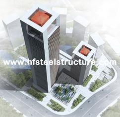 中国 産業プレハブの鉄骨フレームのプレハブの建物、多階の鋼鉄建物 サプライヤー
