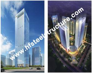 中国 注文のプレハブの産業 Q235 の Q345 鋼鉄貯蔵の多階の鋼鉄建物 サプライヤー