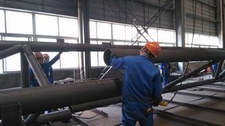 中国 産業鋼鉄建物のための前工学部品の構造スチールの製作 サプライヤー