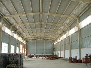 中国 携帯用耐久財は建物、軽量の鋼鉄製品の小屋の納屋を前設計しました サプライヤー