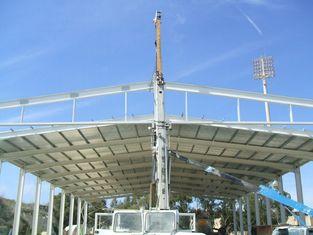 中国 電流を通されたプレハブの鋼鉄航空機の格納庫の建物の速く建設 サプライヤー