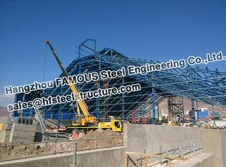 中国 鉱山の企業 PEB の構造スチールの製作の管のトラス構造 サプライヤー