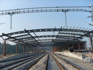 中国 駅の構造金属のトラス建物、2-4 の層のさびない絵画 サプライヤー