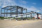 黒いプレハブの鋼鉄建物、オーストラリア ニュージーランドの標準を造る構造鋼鉄製品