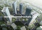 中国 OEM のプレハブの溶接、ブレーキがかかり、転がり、そして塗る金属の商業鋼鉄建物 工場