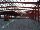 中国 H のセクション・ビーム/コラムの鋼鉄-木造家屋は前に 80 x 100 つ Clearspan を設計しました 工場