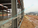 中国 ASTM ASD は設計された鋼鉄建物を、前に 85' X 100 'の発電所のプロジェクトの研修会組立て式に作りました 工場