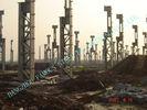 中国 植物 ASTM の鋼鉄-木造家屋、プレハブの鋼鉄建物--をセメントで接合して下さい 工場