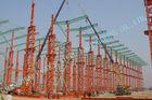 中国 産業 ASTM の鋼鉄-木造家屋、プレハブ 75 x 120 の Multipan の金属の建物 工場