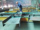 中国 前に商業鋼鉄建物 H のセクション・ビームの上塗を施してある灰色の絵画を設計すること 工場
