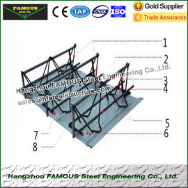 造る基礎のための性能の補強鋼鉄 Rebar のトラス橋床シート