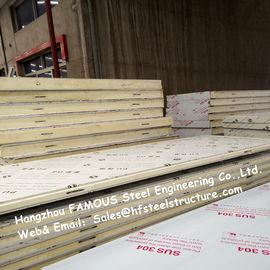 鋼板材料が付いている軽量の冷蔵室のパネルの送風フリーザーの天井板