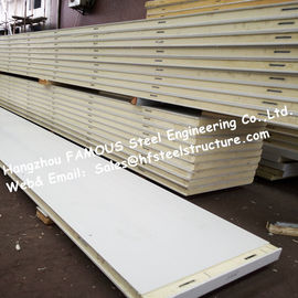 低温貯蔵のための絶縁材ポリウレタン冷蔵室のパネル12kg密度