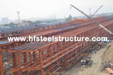 広いスパンの産業鋼鉄建物ライト鉄骨構造の建物