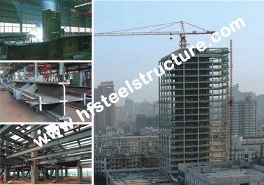 アーチ様式の商業鋼鉄建物、冷間圧延された鋼鉄軽量の門脈の木造家屋