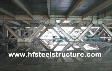 モール、ホテルのための組み立てシステムおよびプレハブのオフィスの多階の鋼鉄建物