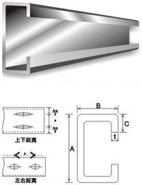 構造スチールの建築材料の電流を通された鋼鉄母屋 C および Z の母屋の鋼鉄