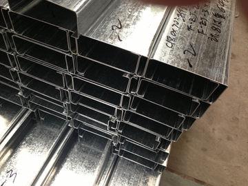 Q235 Q345 は 275g/m2 亜鉛コーティング厚さの C そして Z の鋼鉄母屋に電流を通しました