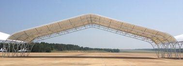 大きいスパンが付いているプレハブの鋼鉄配管トラス航空機の格納庫の建物