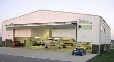 省力化のカスタマイズされたプレハブの鋼鉄航空機の格納庫