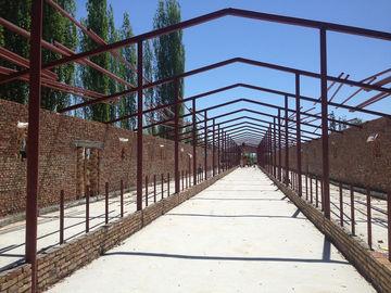 プレハブの鋼鉄構造倉庫の研修会の鋼鉄牛舎および構造