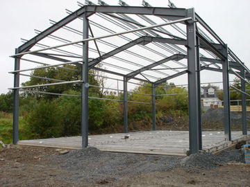 産業鋼鉄建物、倉庫の建物のための軽い構造スチール組み立てシステム
